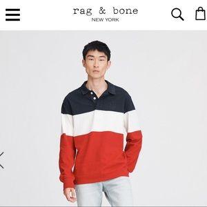 Rag & Bone Rugby shirt XL